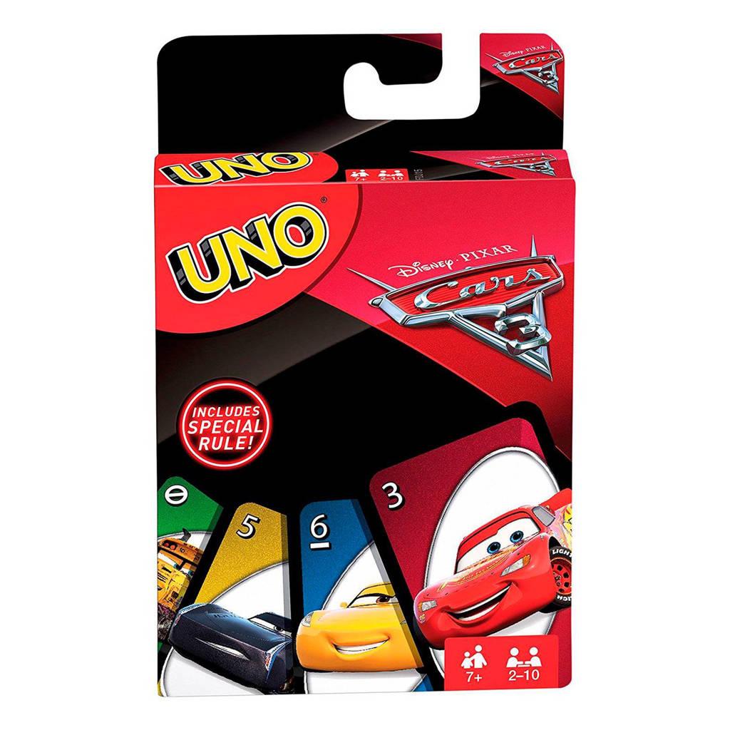 Mattel Uno Cars 3 kinderspel