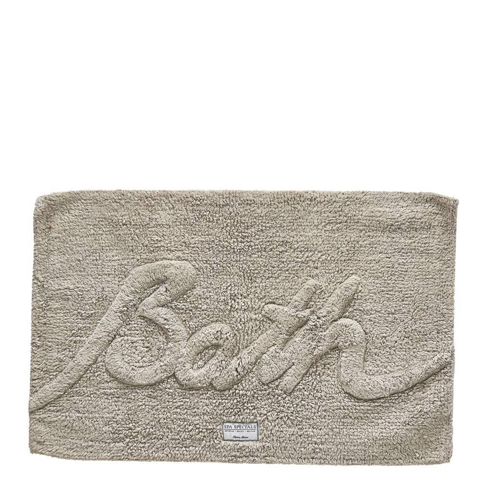Riviera Maison badmat 'Bath' (50x80 cm), Zand