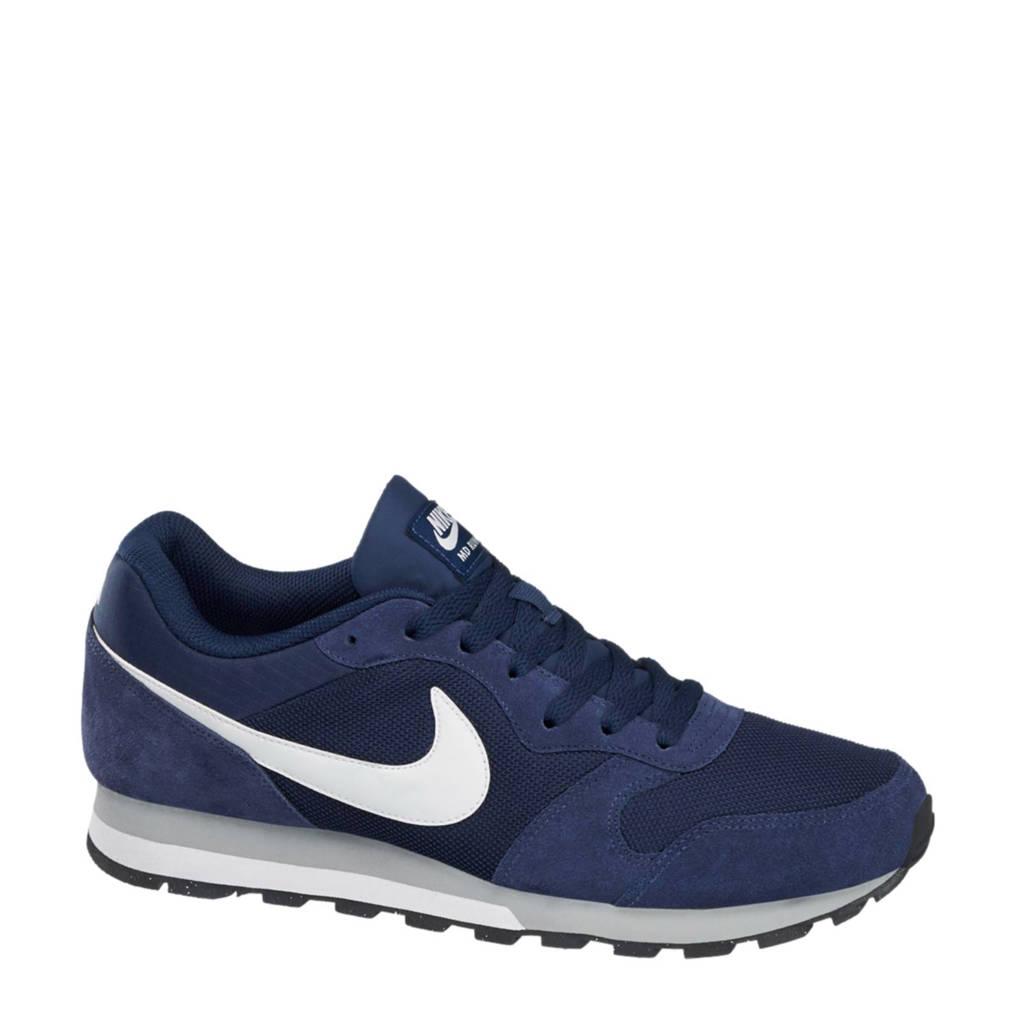 Nike  MD Runner suède sneakers, Donkerblauw