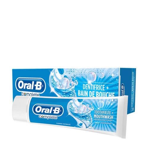 Oral-B Complete verrissende reiniging + mondwater tandpasta