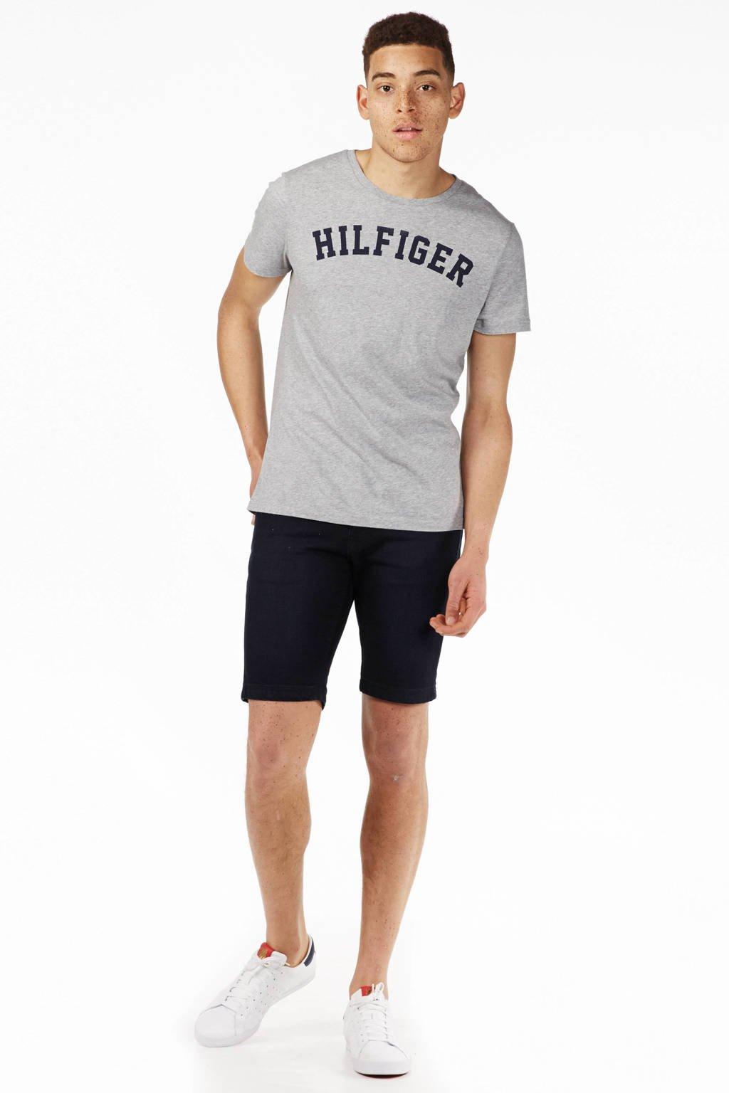 Tommy Hilfiger T-shirt, Grijs/zwart