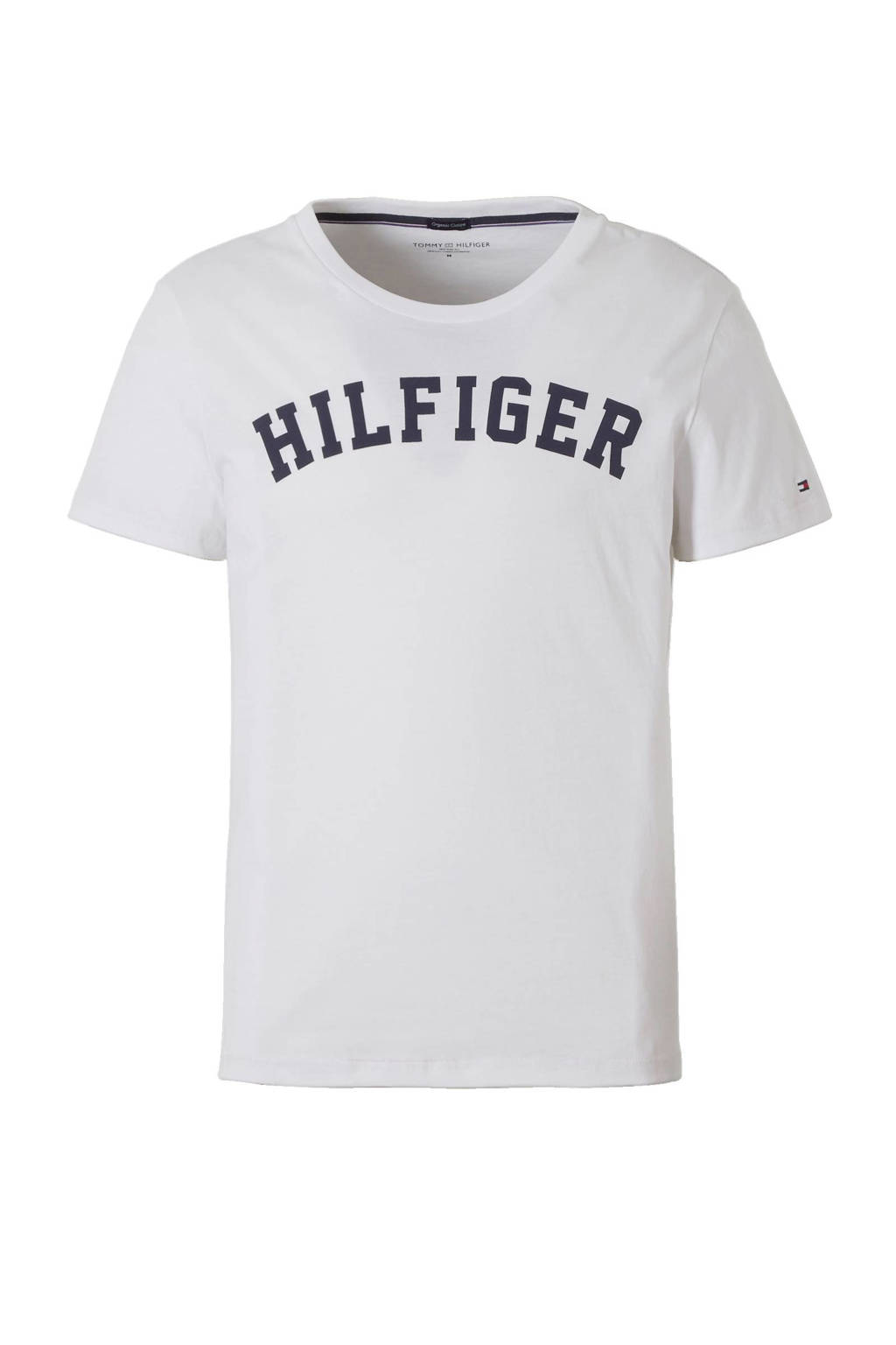 Tommy Hilfiger T-shirt, Wit/zwart