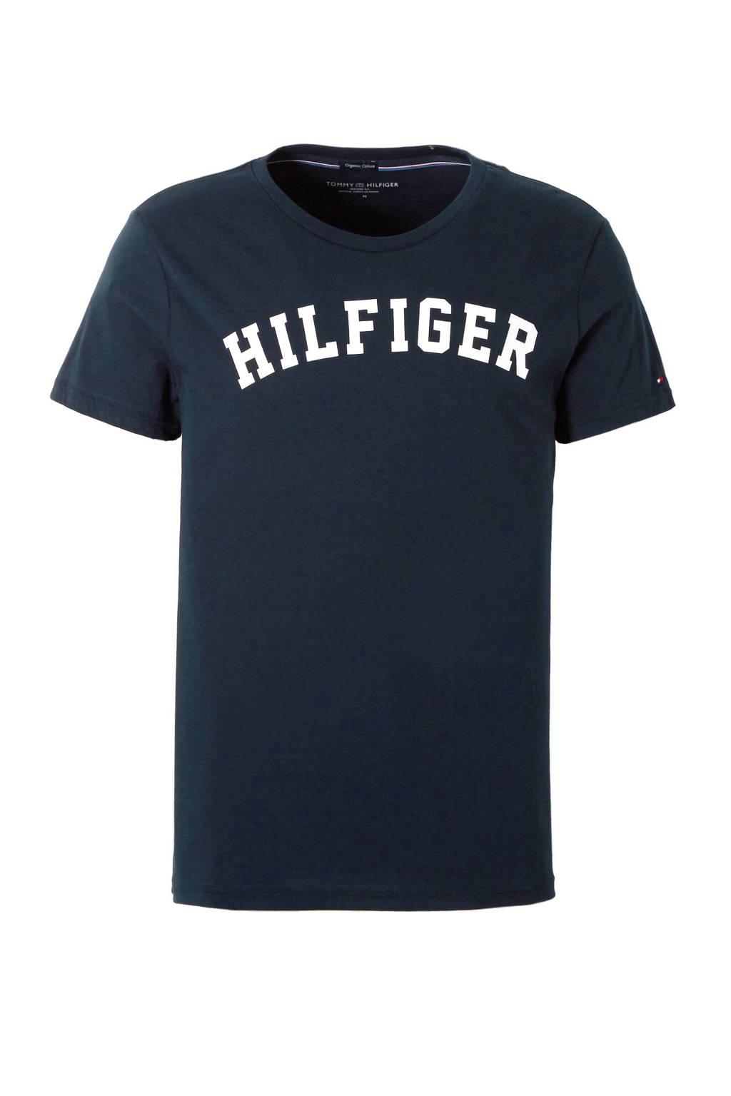 Tommy Hilfiger T-shirt, Marine/wit