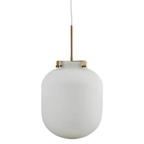 House Doctor Hanglamp Ball Ø30 x 35 cm Wit