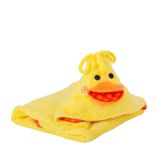 Zoocchini Baby Badcape Puddles The Duck