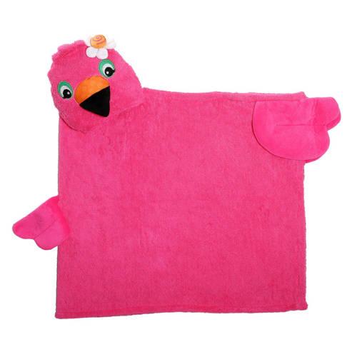Zoocchini Kids Badcape Franny The Flamingo