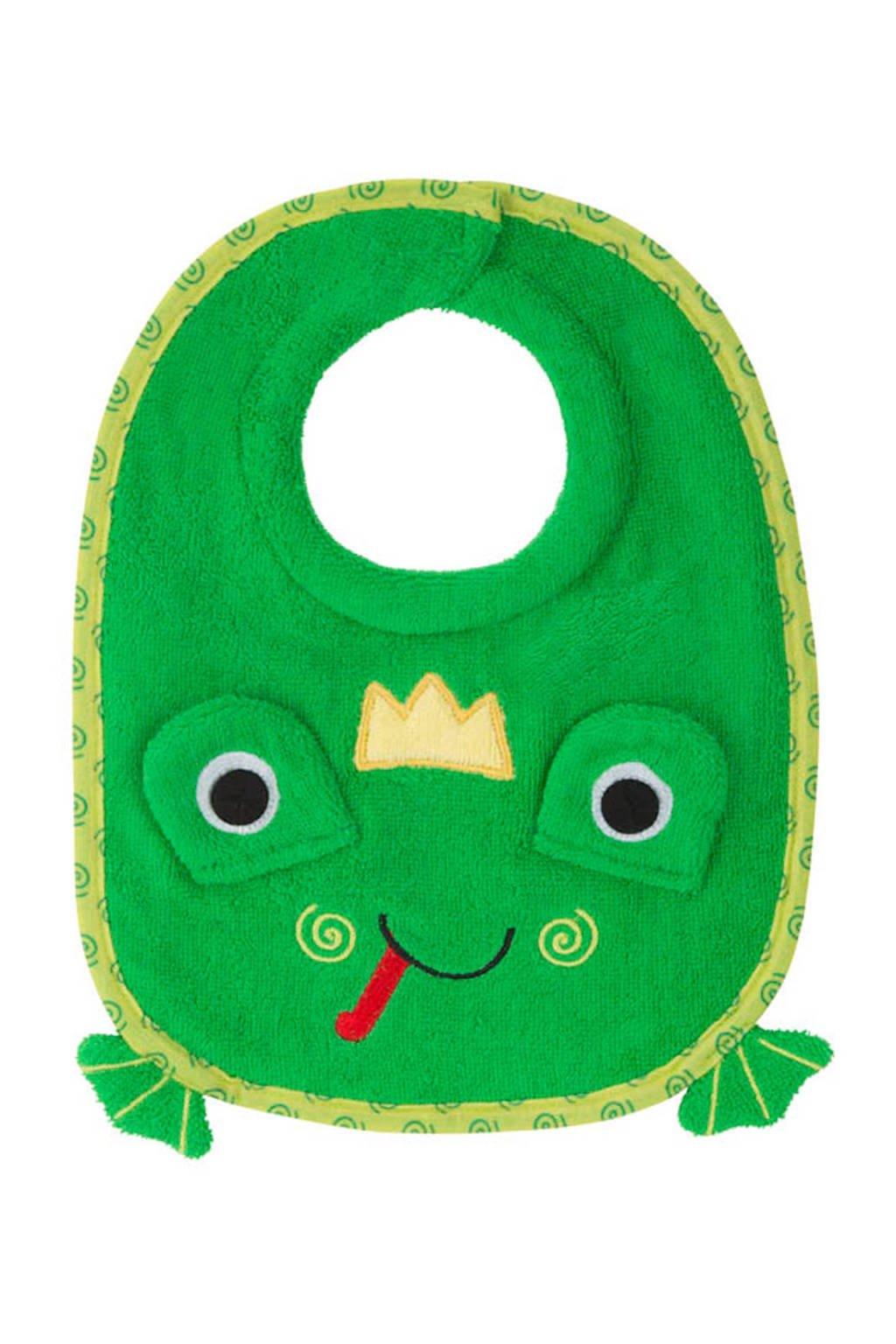 Zoocchini Flippy the Frog slabbetje, Groen