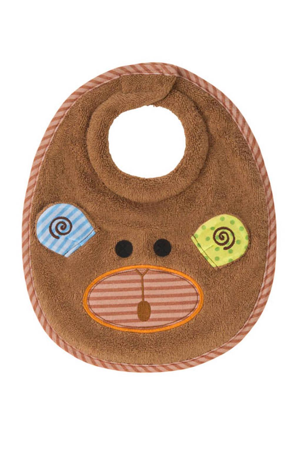 Zoocchini Max the Monkey slabbetje, Bruin