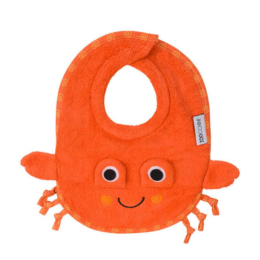 Zoocchini Charlie the Crab slabbetje, Oranje