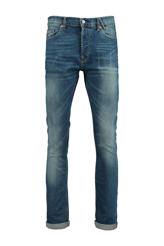 America Today slim fit jeans, Denimblauw