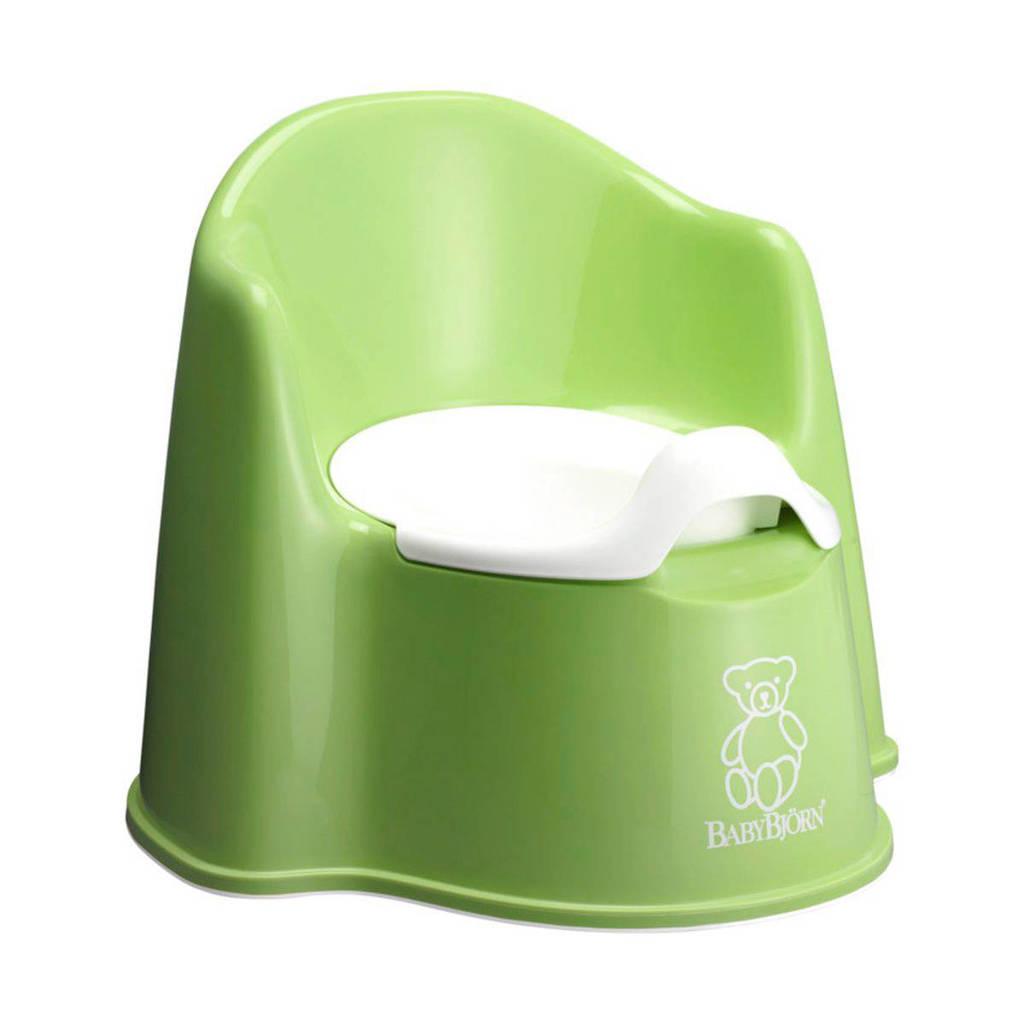 BabyBjörn potje groen, Groen