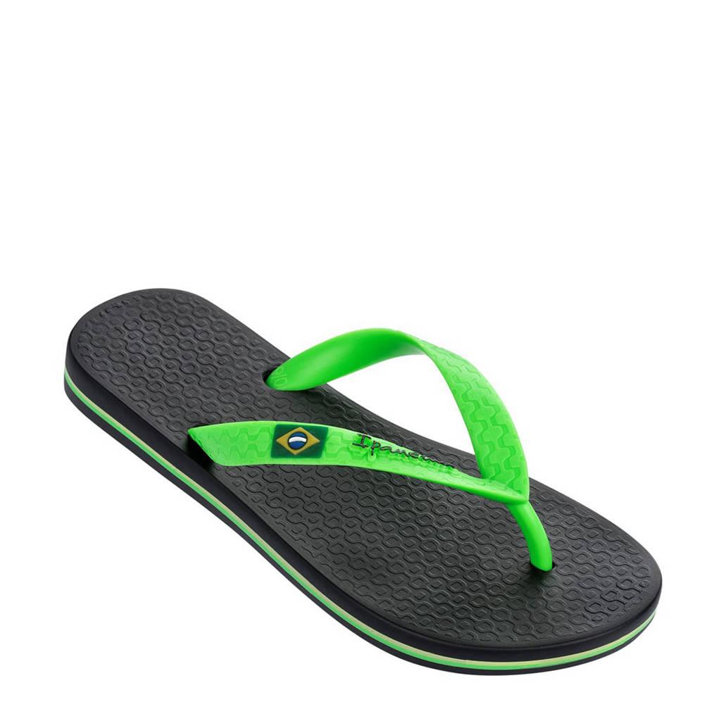 Ipanema Classic teenslippers, Groen/zwart