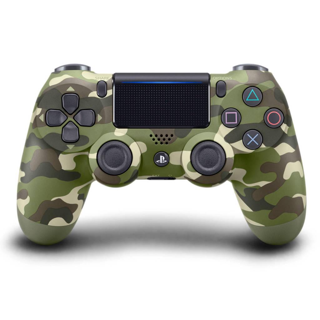 Sony PlayStation 4 DualShock 4 controller v2 groen, Green camo