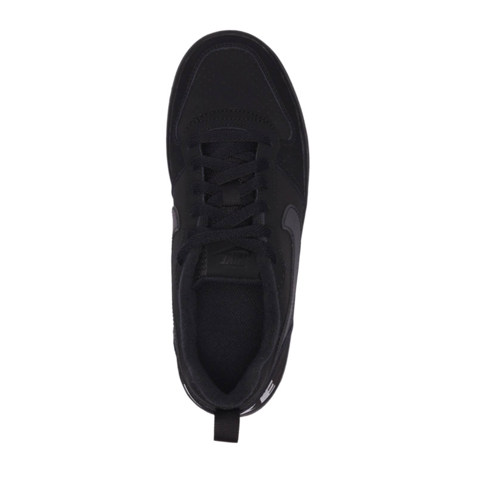 Nike Court Borough LOW sneakers zwart   wehkamp