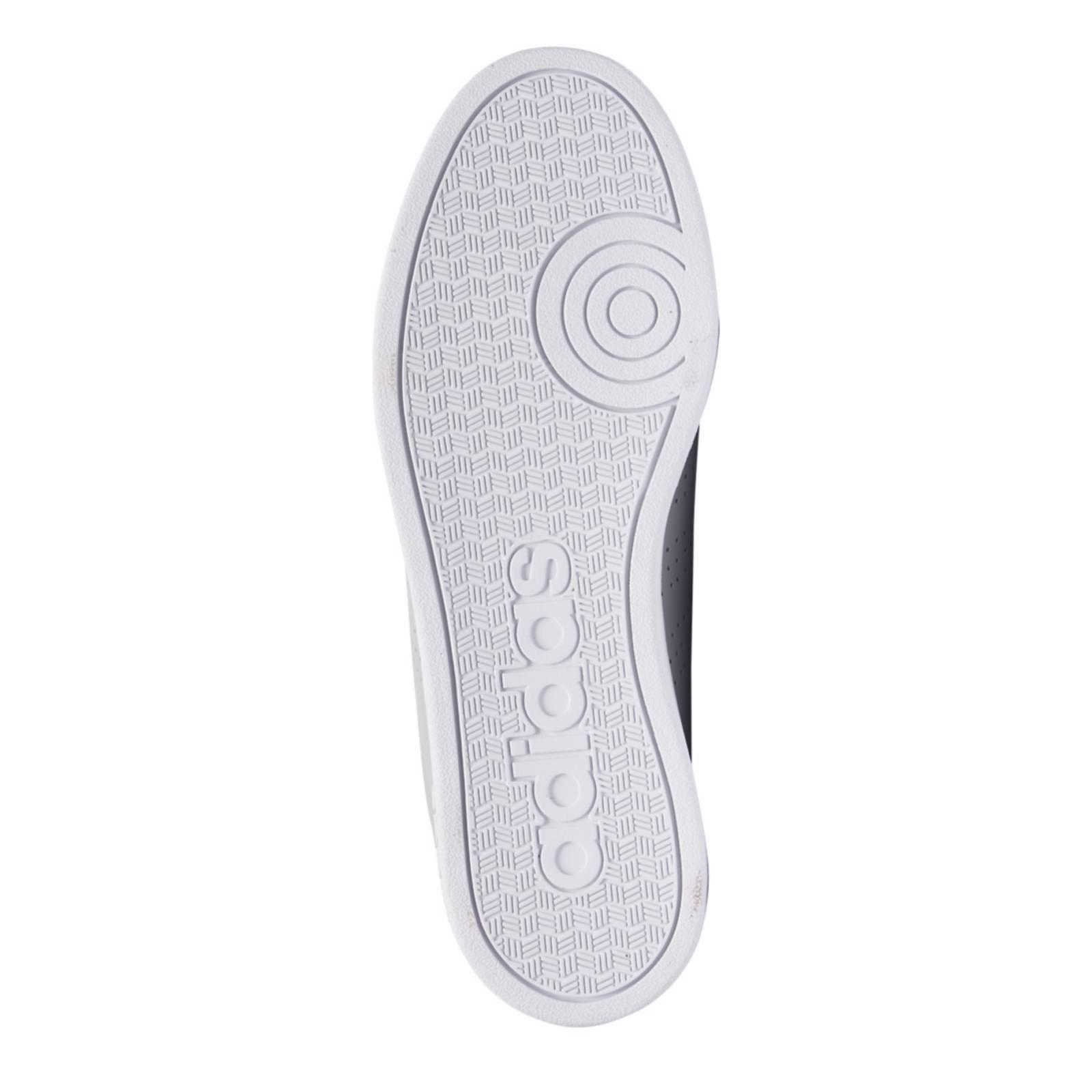 adidas cloudfoam advantage clean sneakers grijs heren
