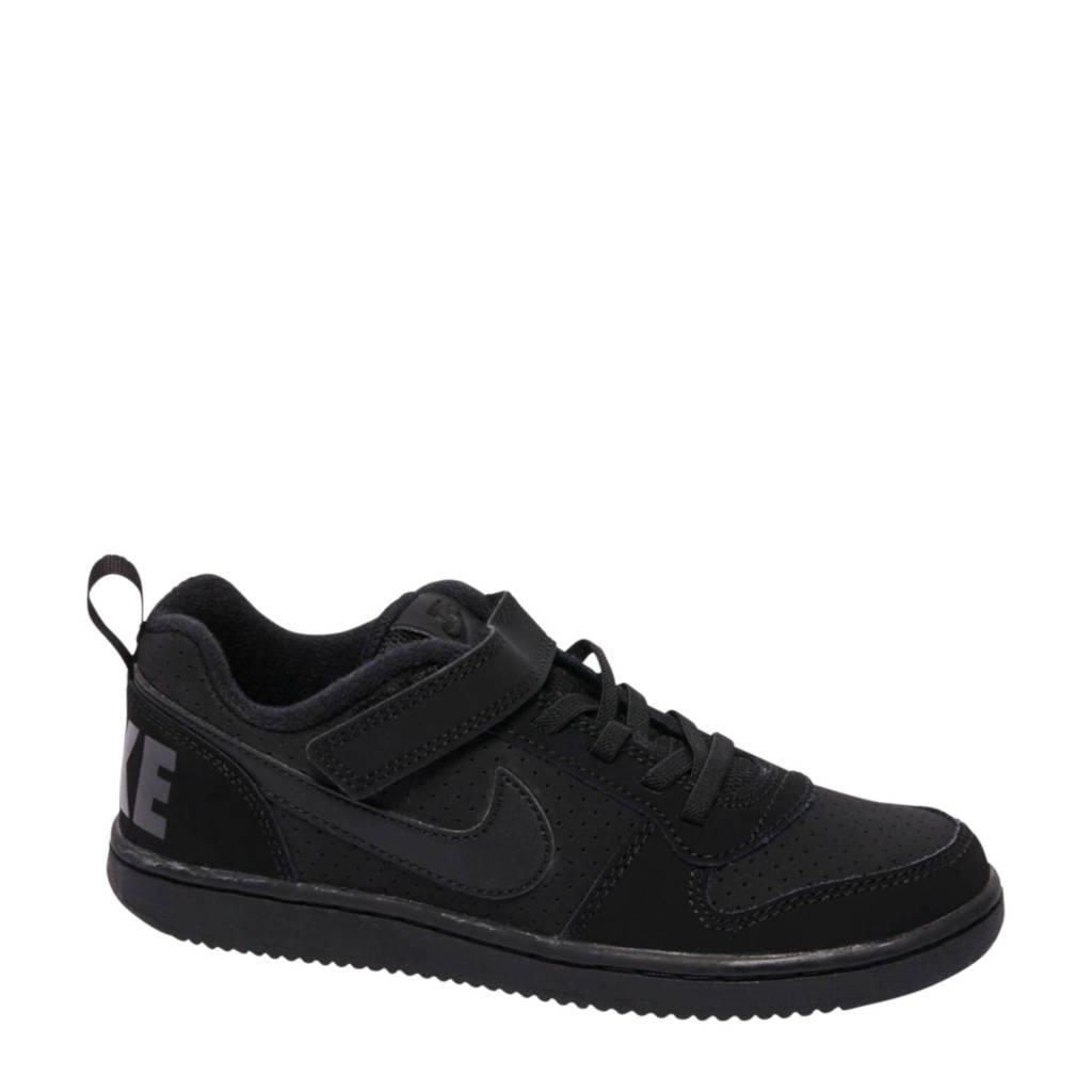 Nike  Court Borough LOW sneakers, Zwart