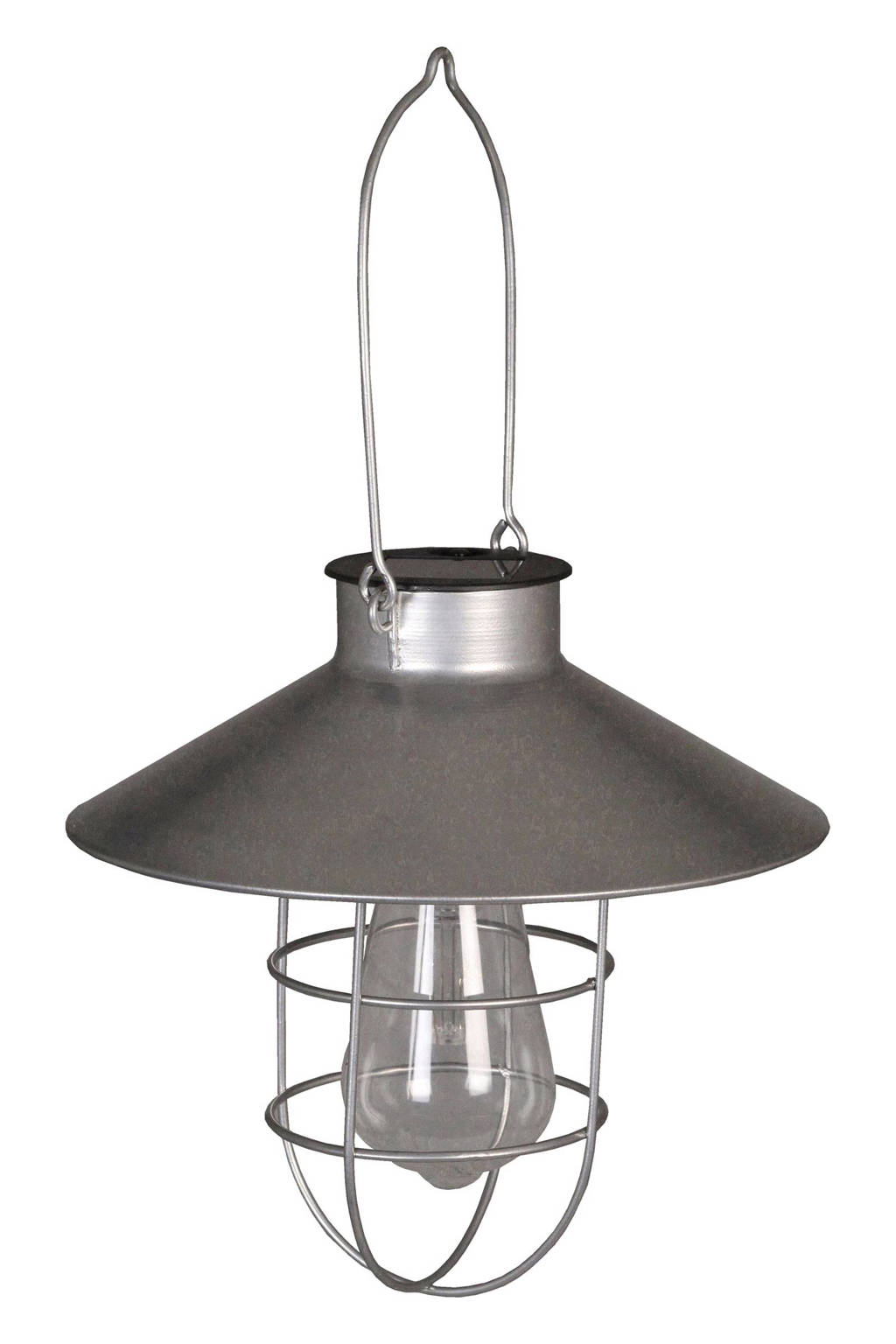 Luxform hanglamp Ravenna (solar), Zilver