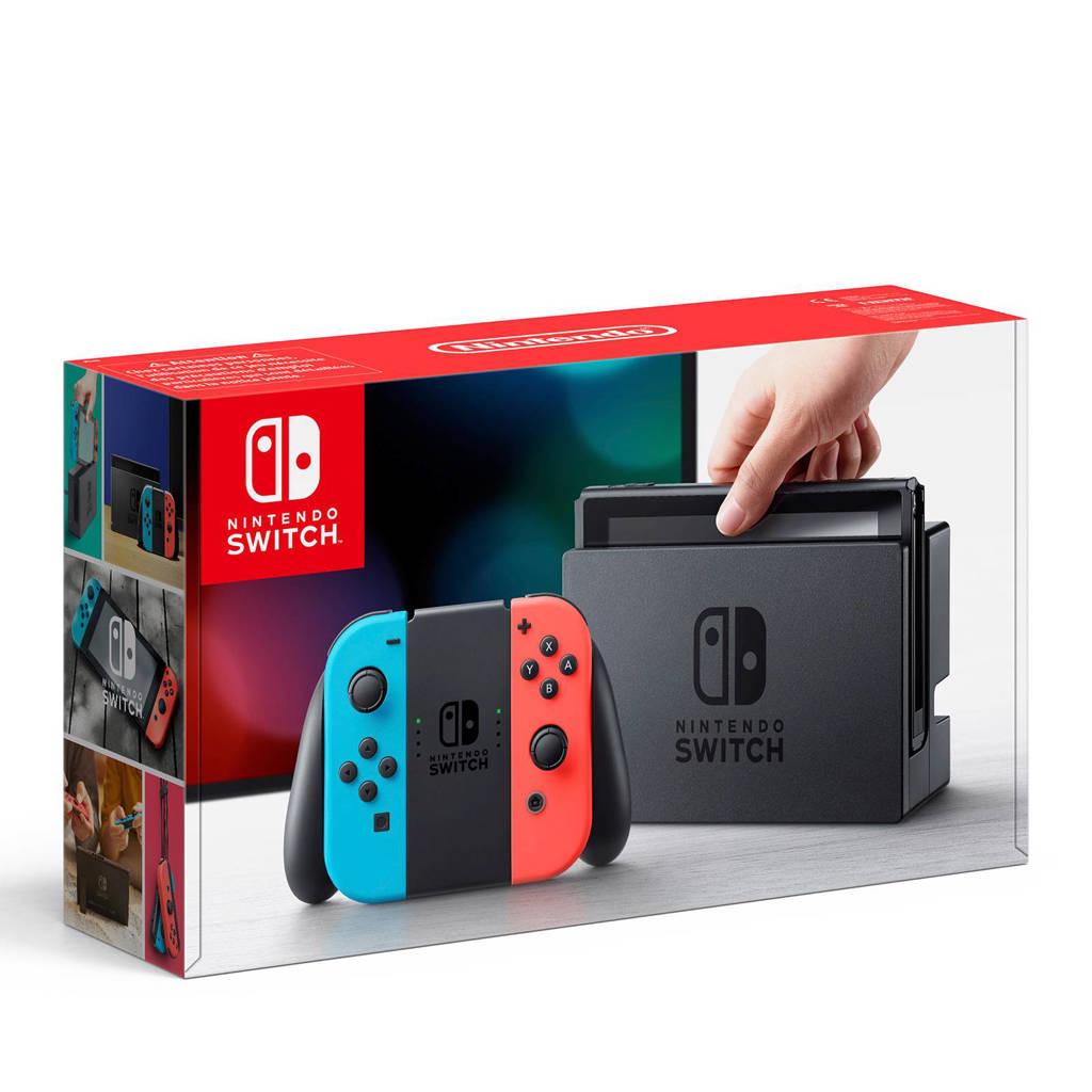 Nintendo Switch blauw/rood, Blauw/rood