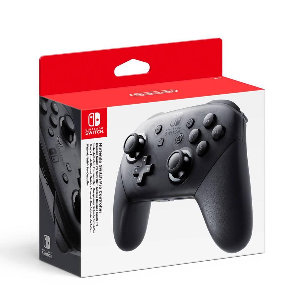Nintendo Switch pro controller zwart, Zwart