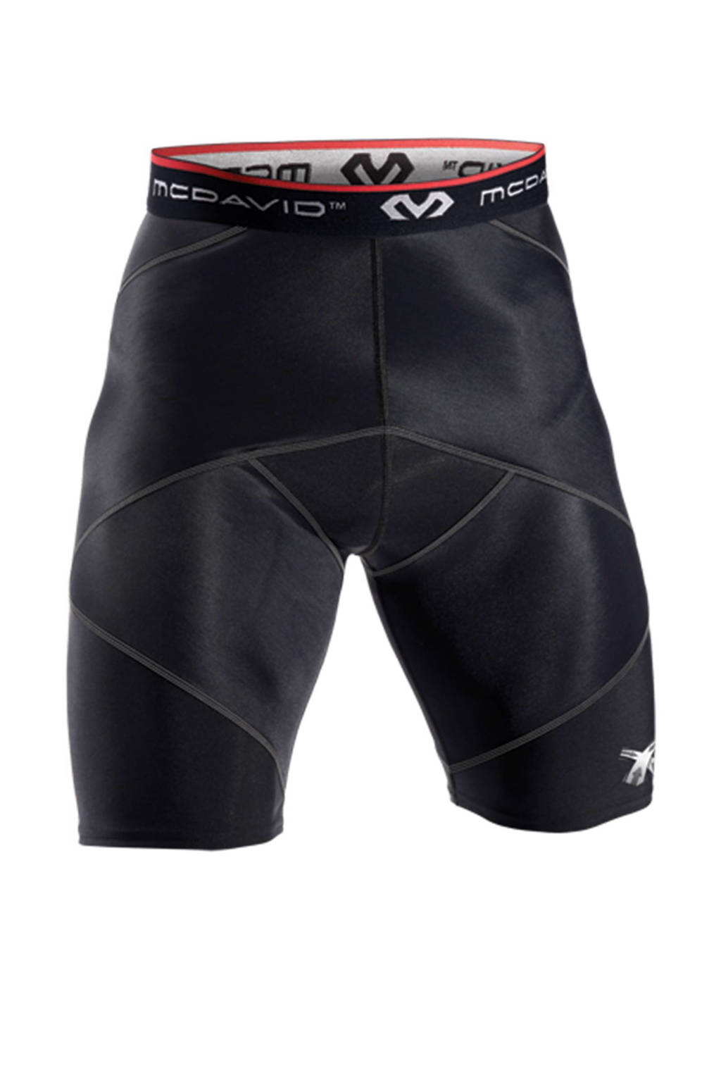 MC David compressie short, Zwart
