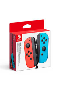 Nintendo Switch set 2 Joy-Con controllers rood/blauw