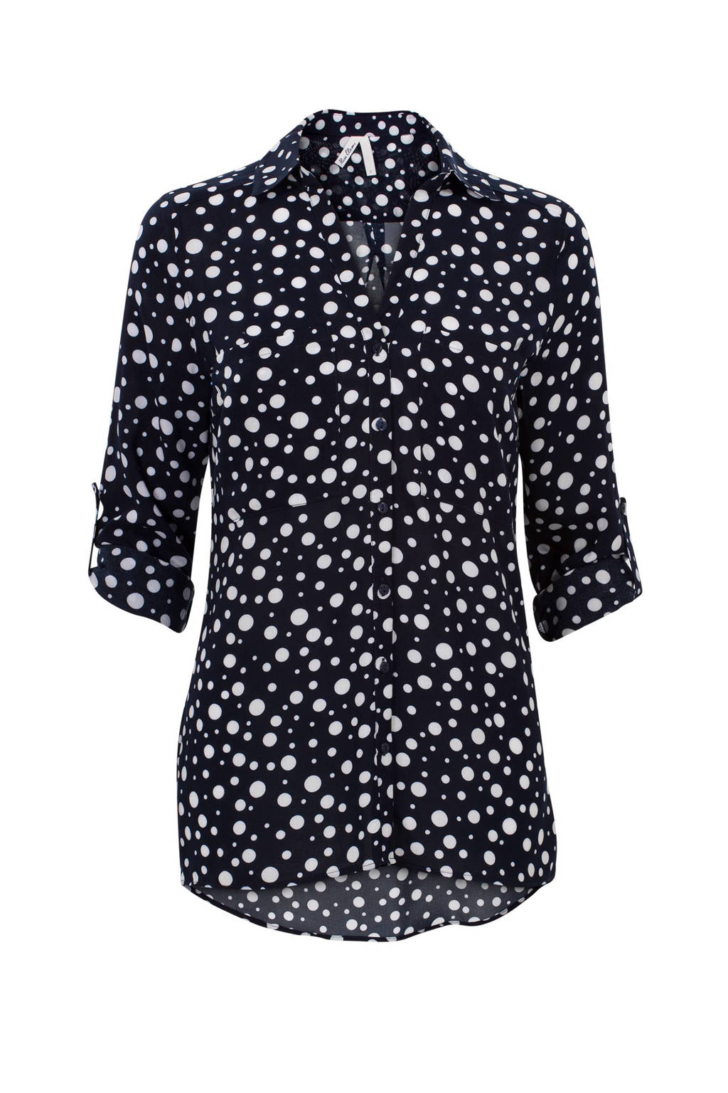 Miss Etam Regulier blouse, Blauw