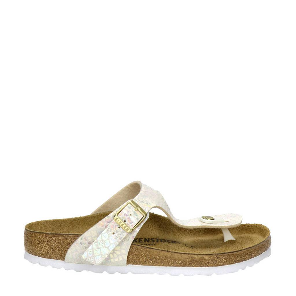 Birkenstock Gizeh slippers, Ecru