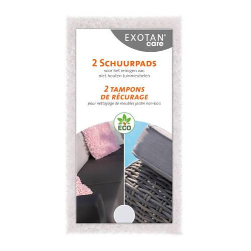 Exotan Care schuurpads (set van 2) kopen