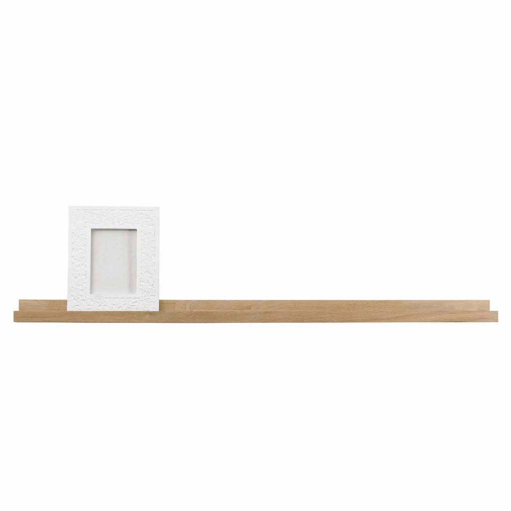 Woood fotolijstplank (120 cm), Bruin
