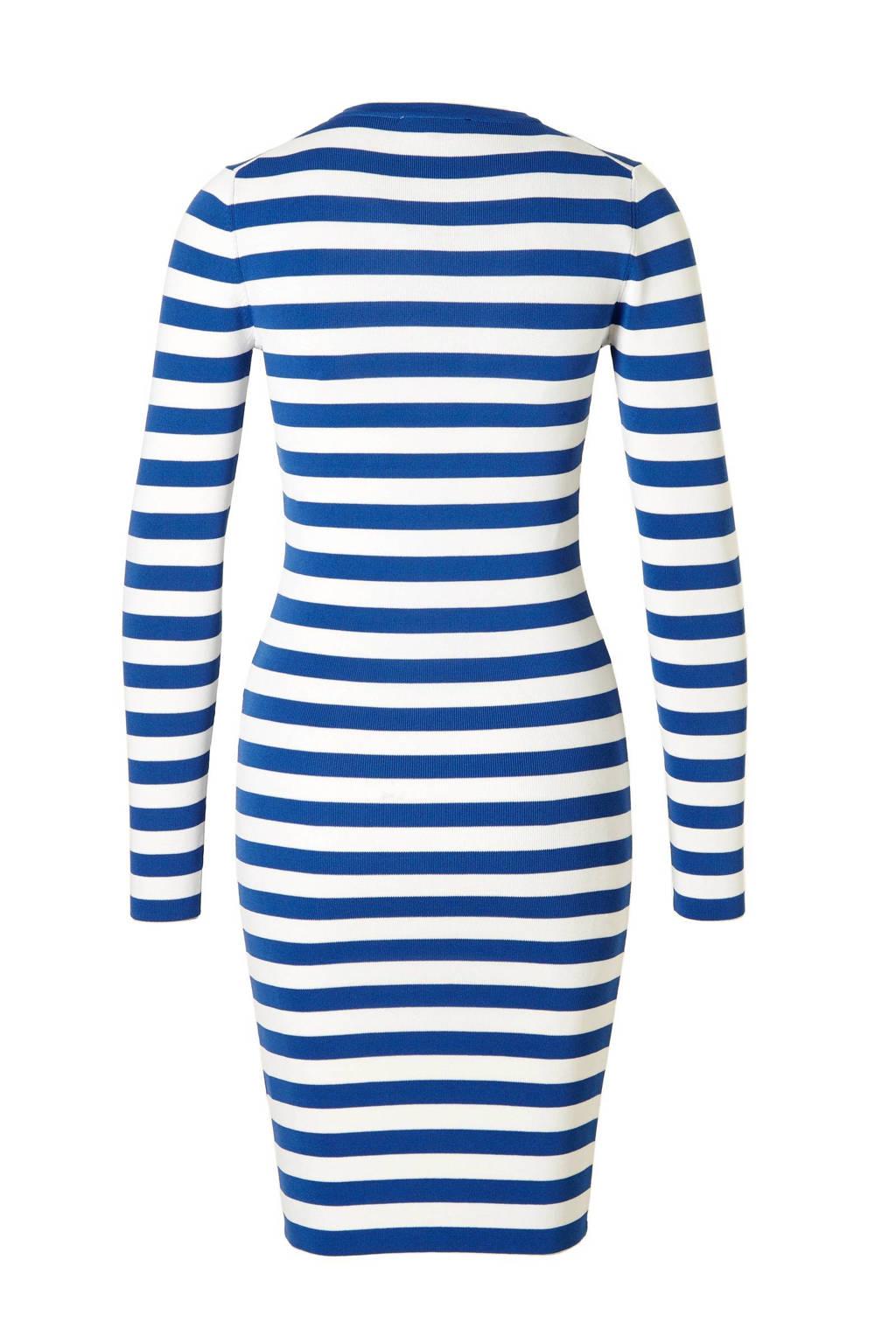 aaa74d85b2c NIKKIE Jolie jurk, Off White/Morning Blue