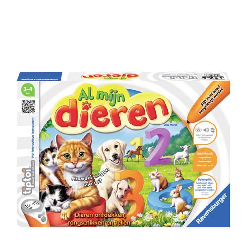Ravensburger Tiptoi spel al mijn dieren