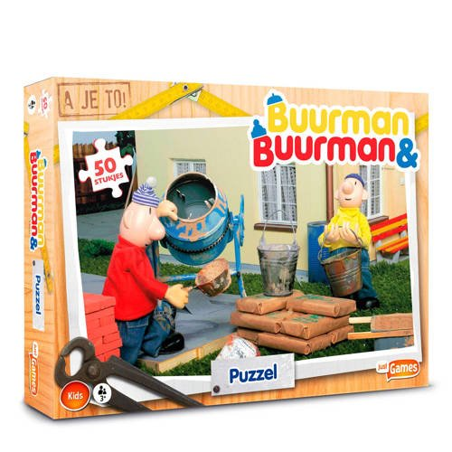 Buurman & Buurman Puzzel 50 stukjes legpuzzel 50 stukjes kopen