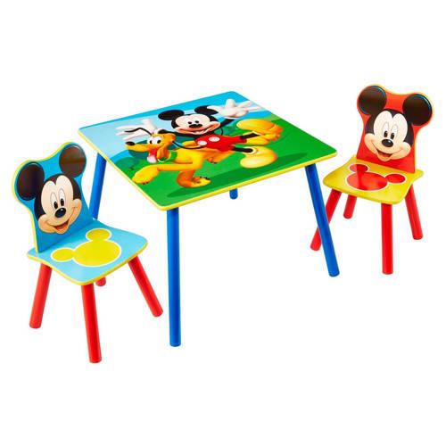 Tafel Met Stoeltjes Mickey Mouse Per stuk