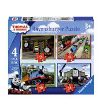 Ravensburger Thomas & Friends 4-in-1-box  legpuzzel 72 stukjes