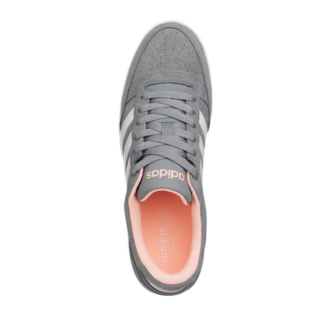 994df52944d adidas suède sneakers VL Hoops Low grijs | wehkamp