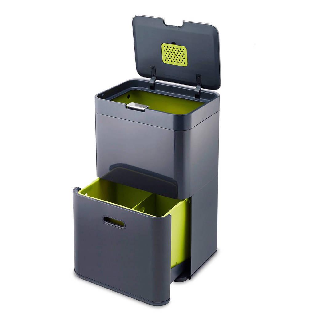 Joseph Joseph Intelligent Waste prullenbak, 48 liter, Graphite