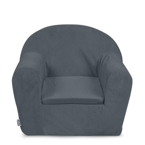 Jollein fauteuiltje corduroy grijs kopen