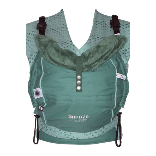 Snoozebaby Kiss & Carry draagzak forest green