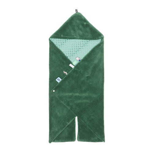 Snoozebaby Trendy Wrapping wikkeldeken forest green