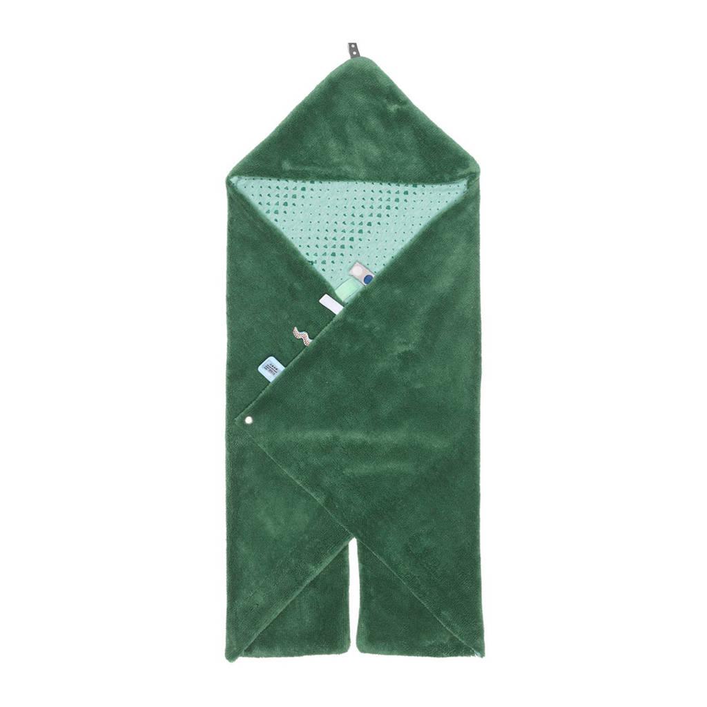 Snoozebaby Trendy Wrapping wikkeldeken forest green