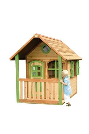 houten speelhuis Alex