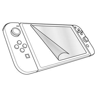Glance screen protection kit voor Nintendo Switch