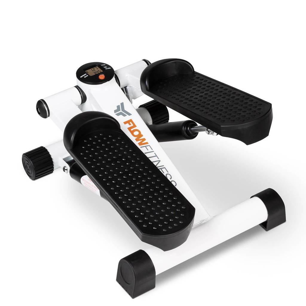 Flow Fitness mini stepper, Wit