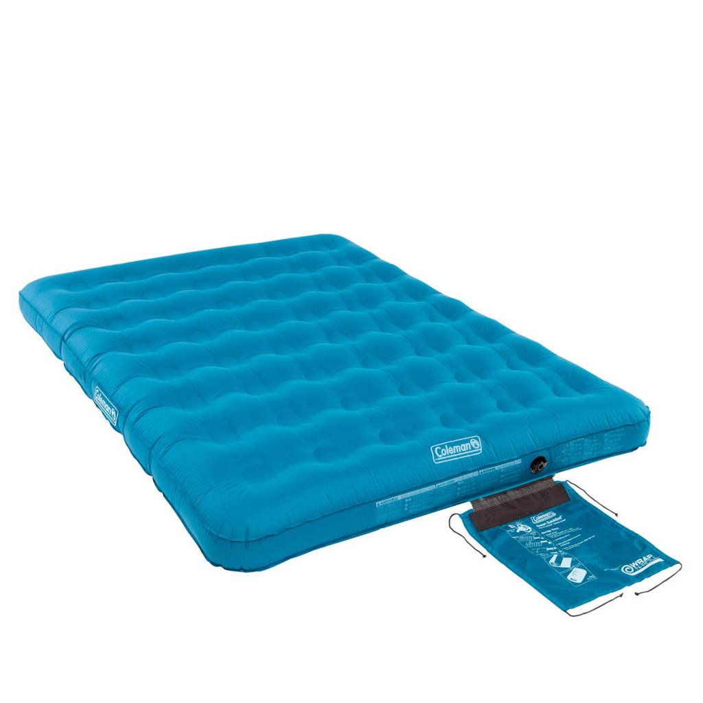 Coleman  Durarest Double 2-persoons luchtbed, Blauw