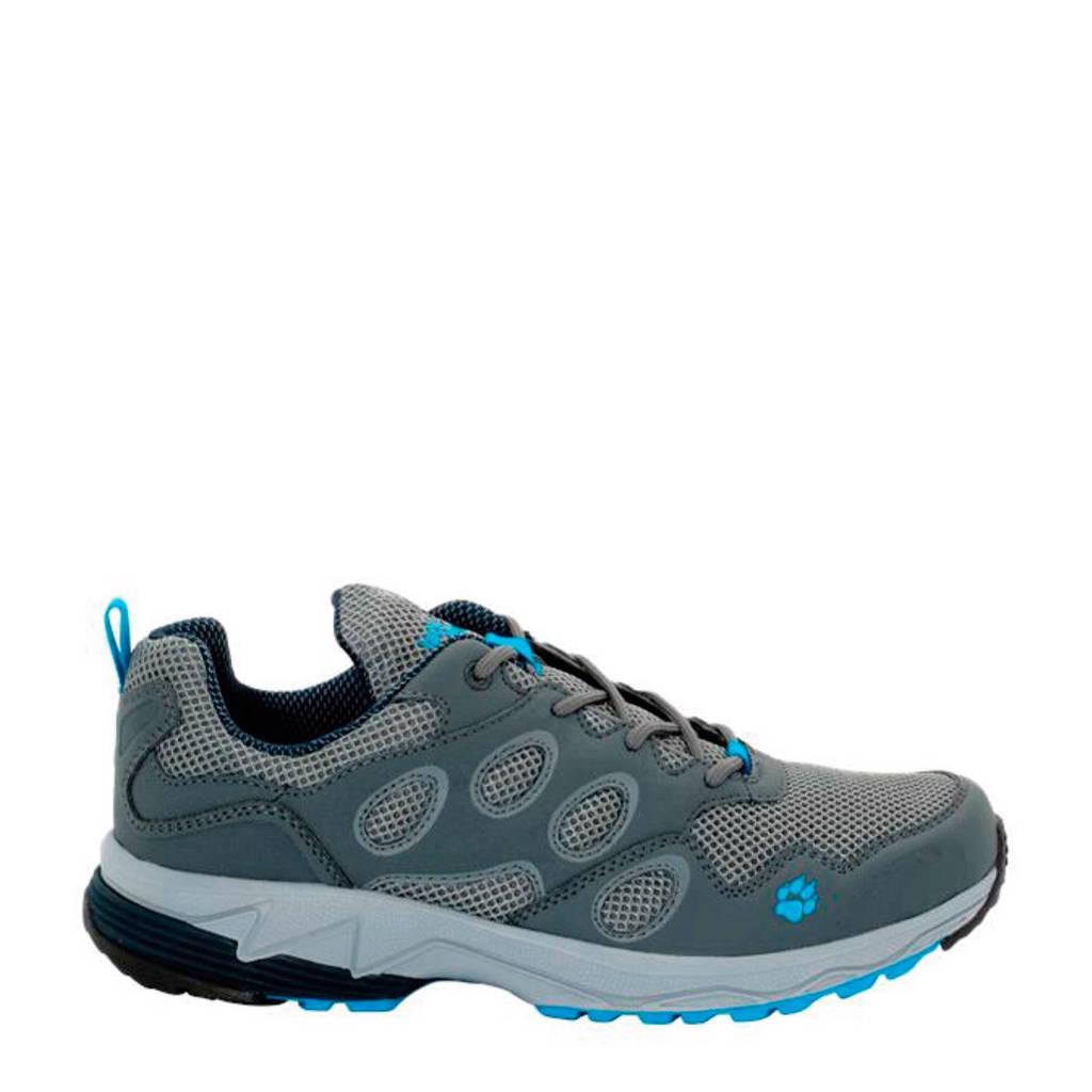 Jack Wolfskin   Venture Fly Low trail hardloopschoenen, Grijs/blauw