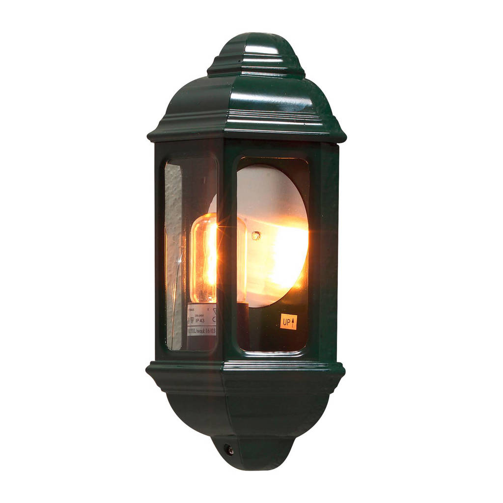 Konstsmide wandlamp Cagliari, Groen