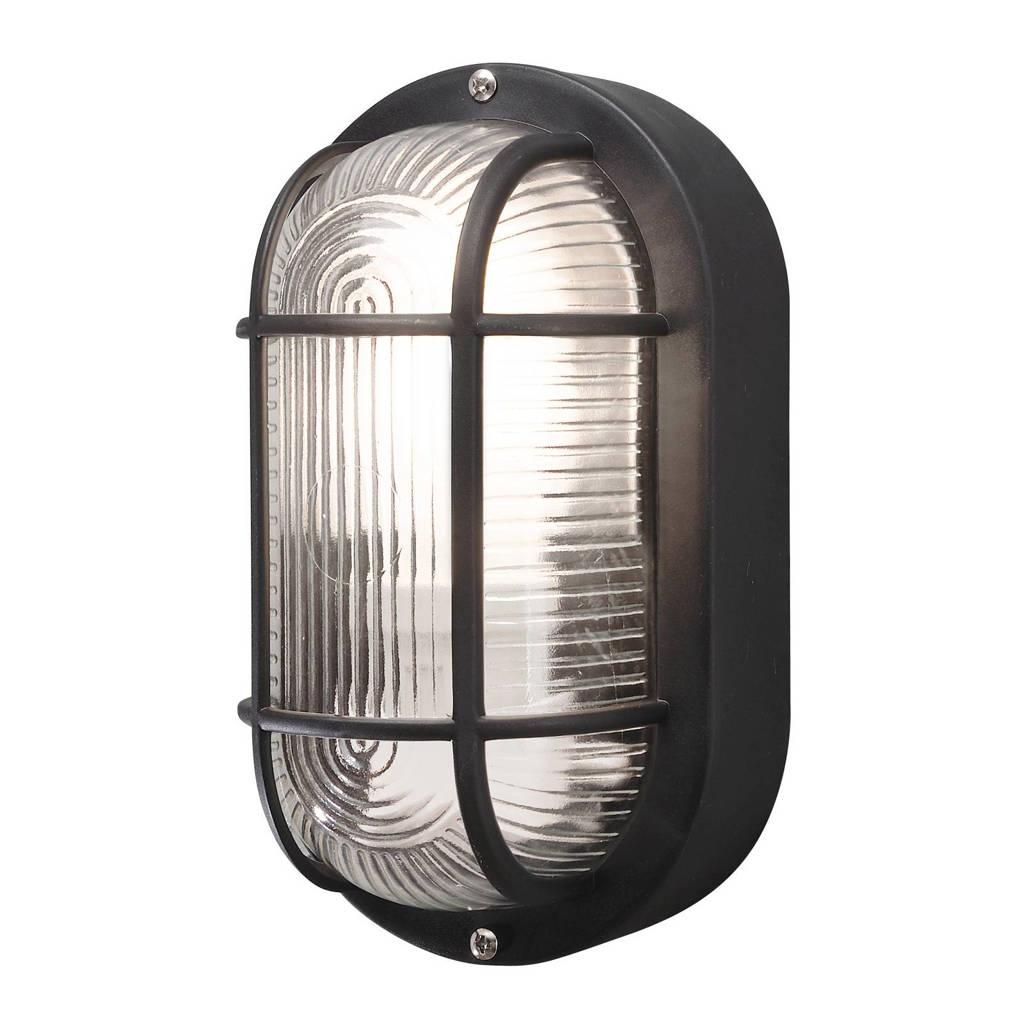 Konstsmide wandlamp/plafonniere Elmas, Zwart