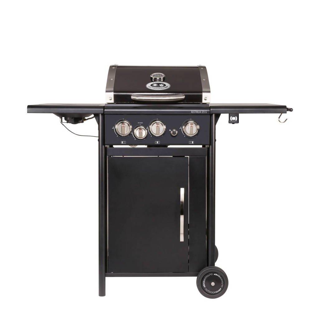Outdoorchef Australia 325 G gasbarbecue, Zwart