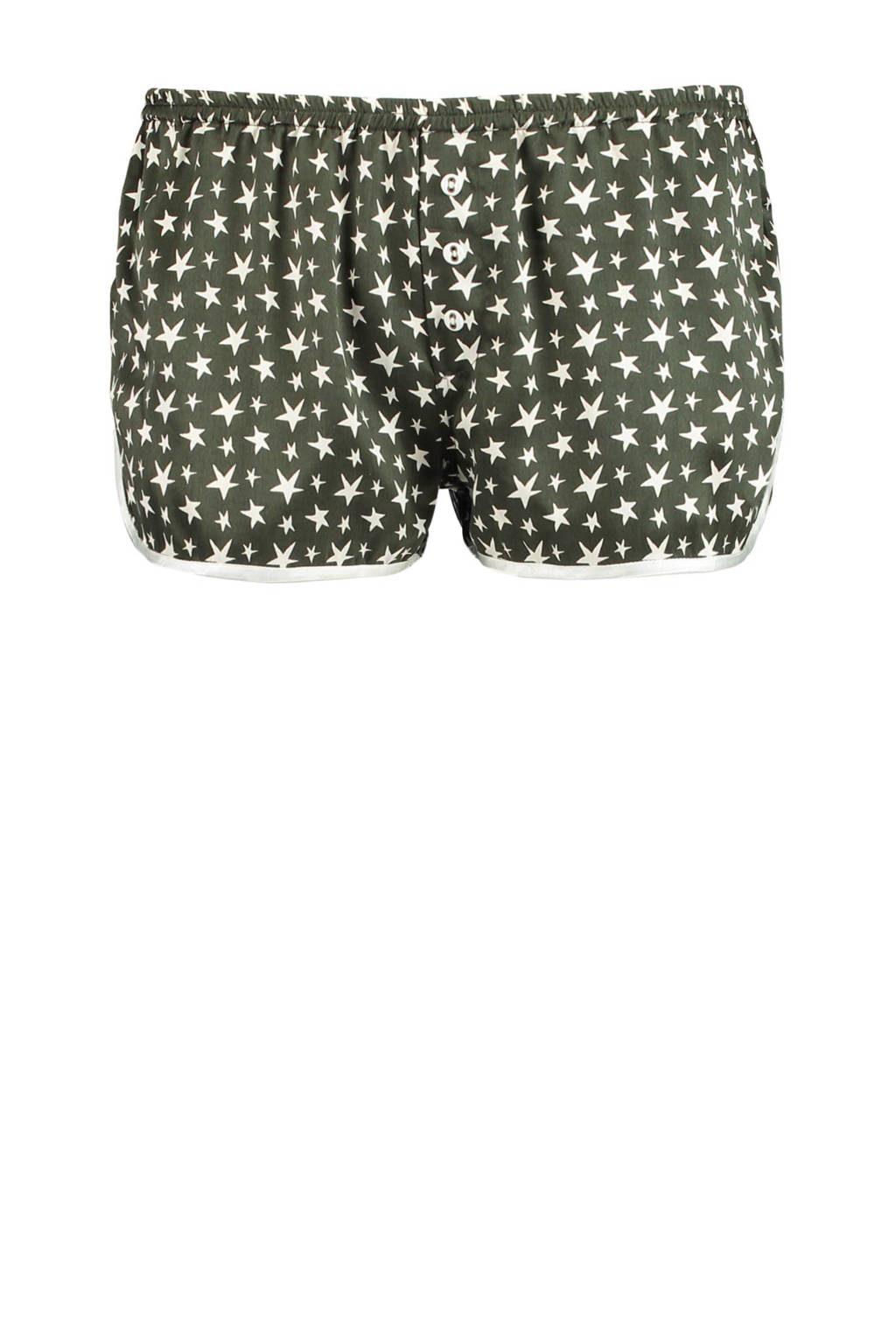 America Today pyjama short, Groen