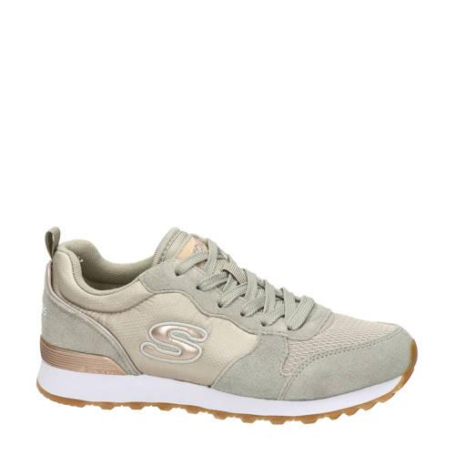 Skechers su??de sneakers taupe